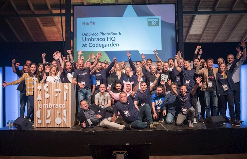 Umbraco HQ team at Codegarden 19