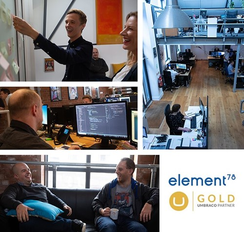 Element78 Umbraco Gold Montage