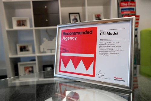 Csi Media Recommended Agency 2019 Certificate
