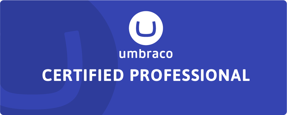 Umbraco certification