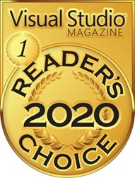 Visual Studio Magazine Gold: Reader's Choice Award 2020
